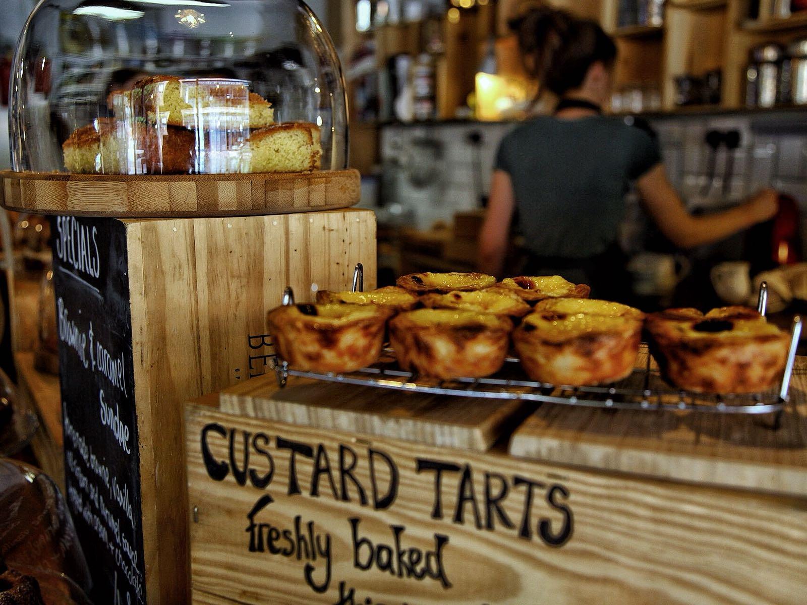 Homemade Cakes in Vanilla Tree Coffee Shop