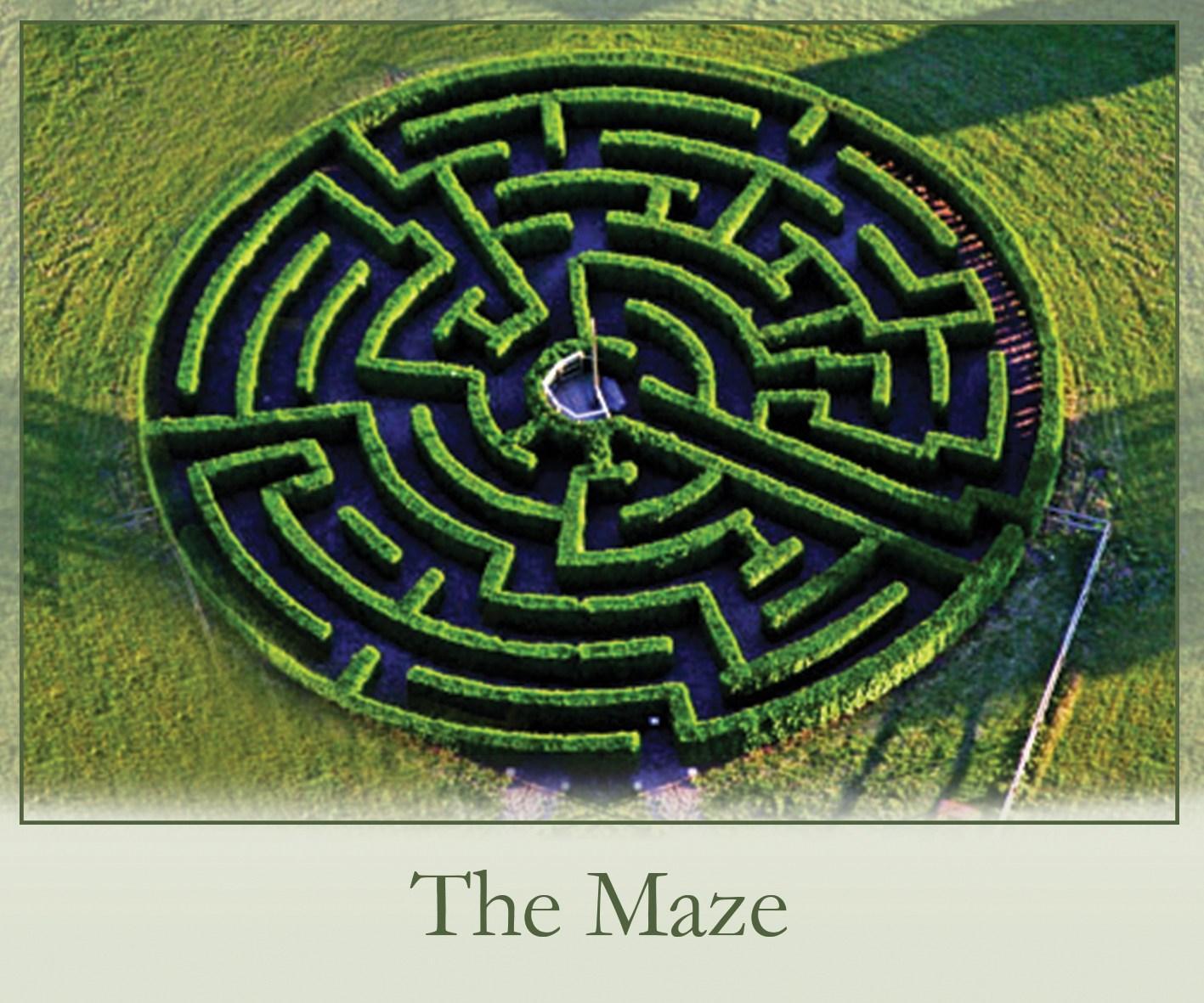 Roxton Garden Centre Maze