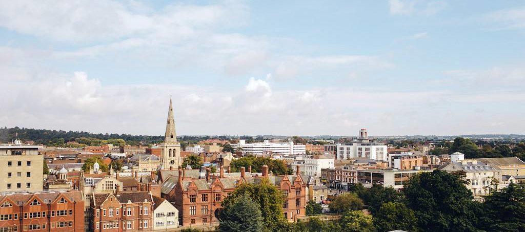 Bedford skyline