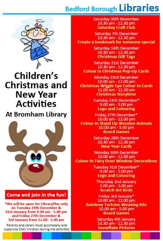 Christmas Bedford Library
